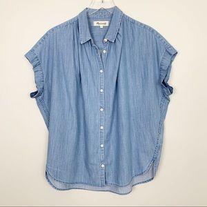 Madewell | Central Shirt Chambray Roberta Indigo